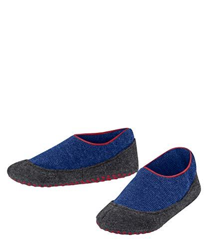FALKE Unisex Kinder Cosy Slipper Stoppersocken, blau (Cobalt Blue 6054), 29-30