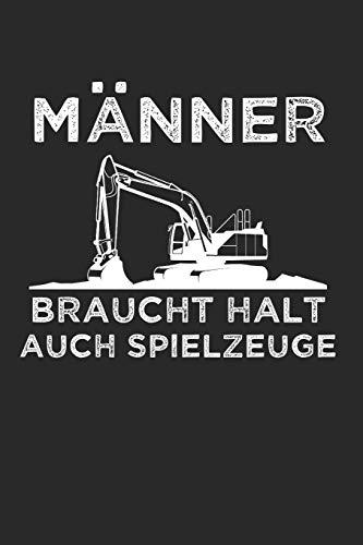 Männer Brauchen Halt Auch Spielzeuge: Sachsen & Ossi DDR Notizbuch 6'x9' Kalender Geschenk für Ostalgie & Sächsisch