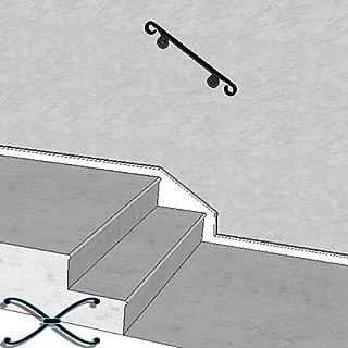 Iron X Handrail Wall #2-24