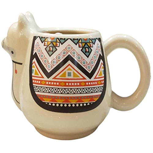 QW Taza de Camello Creativa, Taza de cerámica con Personalidad, Taza de Estilo nórdico Retro, Taza de Pareja de Chico Lindo, Regalo de Gran Capacidad