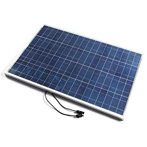 LIPENLI Panel Solar 12V 100W policristalino con Cable, Panel Solar