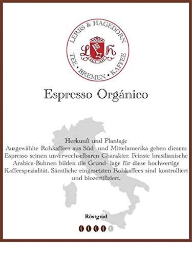 Espresso Orgánico Kaffee 1kg