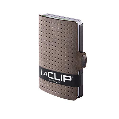 I-CLIP ® Geldbörse AdvantageR Olive, Gunmetal-Black (In 6 Varianten Erhältlich)