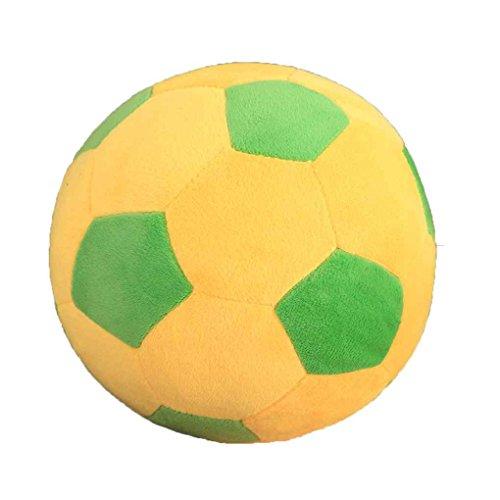 LEVEL GREAT Cartoon Ballon de Football Coussin en Peluche bébé Football Football Sport Jouet Cadeau pour Adultes Tout-Petits Enfants