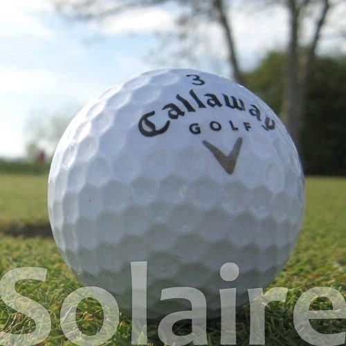 Callaway 100 Solaire Weiss LAKEBALLS/GOLFBÄLLE - QUALITÄT AAA/AA