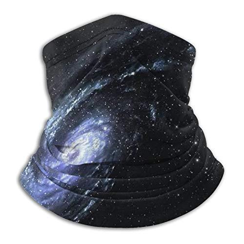 Majestic Scene of The Galaxy, calentador de cuello, polaina, máscara de cara, resistente al viento, bufanda de esquí, pasamontañas, bandana para invierno, otoño, ajustable, transpirable, reutilizable
