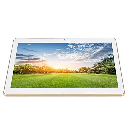 Pantalla táctil de 10 Pulgadas, cámara Dual, procesador de Cuatro núcleos Integrado, 8 Pulgadas, Tableta HD Tablet PC 3G / WiFi 1Gb Ram y 16Gb ROM 128Gb Memoria extendida (Blanco)