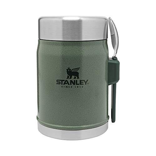 Stanley The Legendary Food Jar + Göffel, 400 ml, Hammerschlaggrün