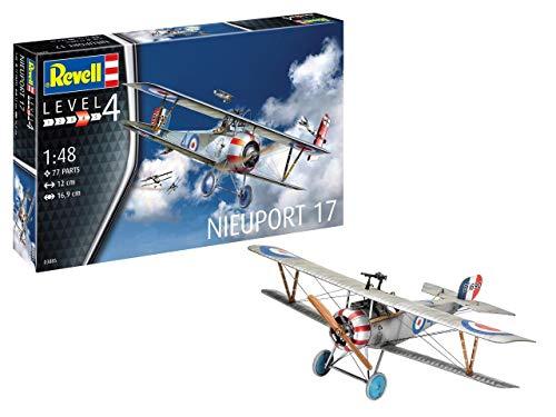 Revell 03885Maquette d'avionNieuport 17, échelle 1/48, 03855, Multicolore