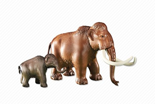 Playmobil 6366 Mammut mit Kalb (Folienverpackung)