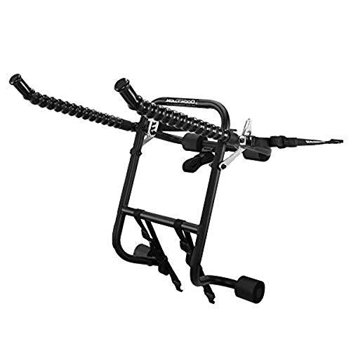 Hollywood Racks F1B The Original 3-Bike Trunk Mount Rack, Black, 3 Bikes