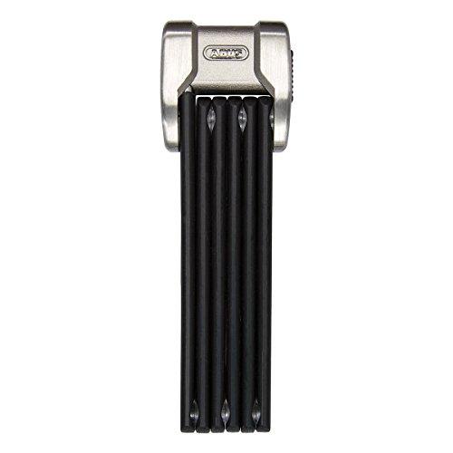 ABUS Faltschloss Bordo Centium 6010/90 mit Halterung - Fahrradschloss aus gehärtetem Stahl - Sicherheitslevel 10 - 90 cm - 20154 - Schwarz