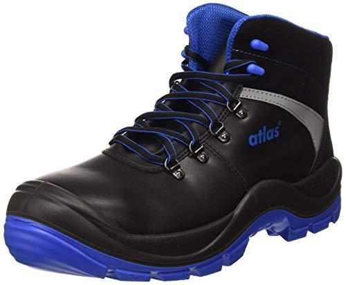 ATLAS 236601 S3 Sicherheitsschuh, ESD-Zertifizierung, SL, 525xp, Blau / Schwarz, 9 Größe