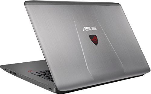 ASUS ROG GL752VW-DH74 17-inch Gaming Laptop, Discrete GPU GeForce GTX 960M 4 GB VRAM, 16GB DDR4, 1 TB, 128 GB SSD (ROG Metallic) (Renewed)