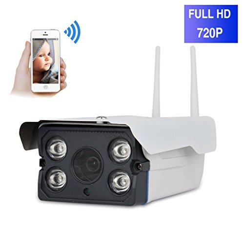 ShengyaoHul 720P HD Ip-Kameras Sicherheits¨¹berwachung, 1 Mp Outdoor Haus Sicherheit, Gegensprechanlage / Infrarot-Objektiv / Zwei-Wege-Stimme