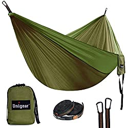 Unigear Double Camping Hammock with Tree Straps