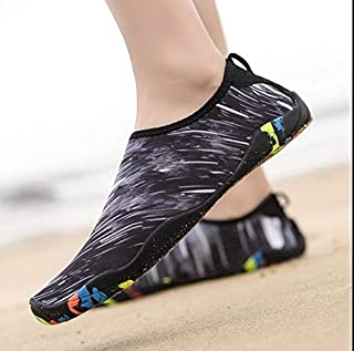 LZRDZSW 2019 Men Water Shoes Women Outdoor Sneaker Swimming Pool Aqua Shoes Diving Wading Beach Shoe Barefoot Unisex Sea Shoes size 3546 Suitable for beach, swimming.