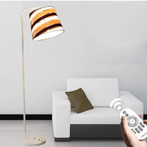 Vloerlamp led-vloerlamp, woonkamer slaapkamer moderne staande lamp Read afstandsbediening schakelaar LED