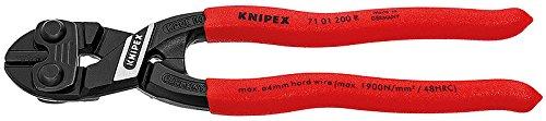 Knipex 71 01 200 R SBA High Leverage CoBolt Cutters, Fencing Cutter