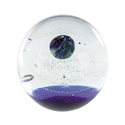 CASABLANCA Presse-papier Universe Verre d 12 cm Bleu/transparent