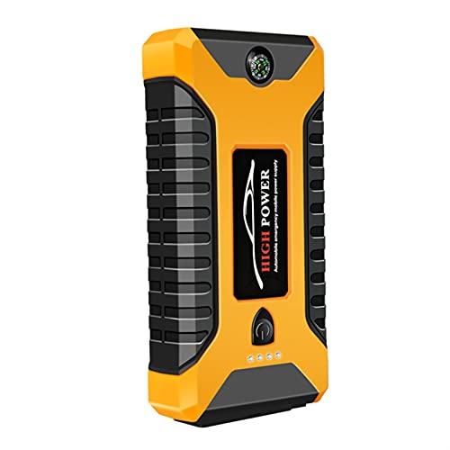 Xue Mei Zi Starter Starter Starter 600A Start Starter (hasta 6.0L Motores De Gas / 4.0 Diesel) Paquete De Batería De La Batería De 12V con USB Carga RÁPIDA 3.0