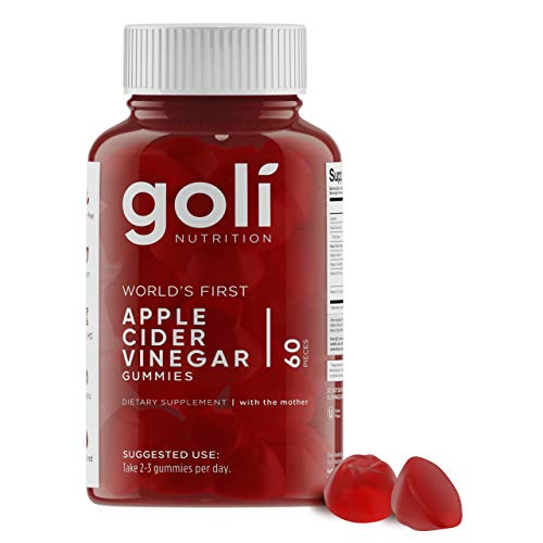 Goli Nutrition Apple Cider Vinegar Gummy Vitamins 60-Count Now $11.97