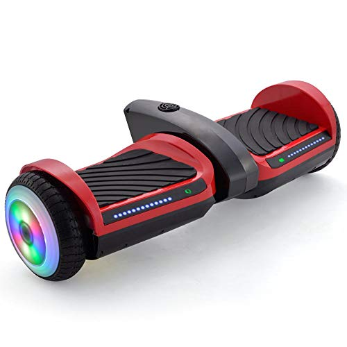 Supersale 6.5'' Bluetooth Rocket Jet Hoverboard with...
