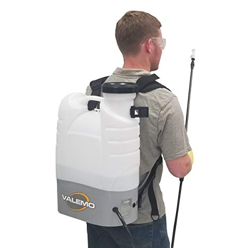 VF-ES100 Cordless Electrostatic Backpack Sprayer for Total Coverage Spraying of Disinfectant Solutions and More.