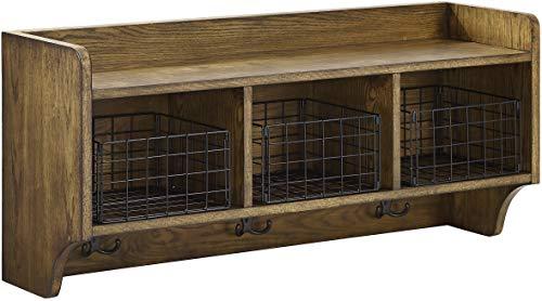 Crosley Furniture Fremont Entryway Shelf, Coffee