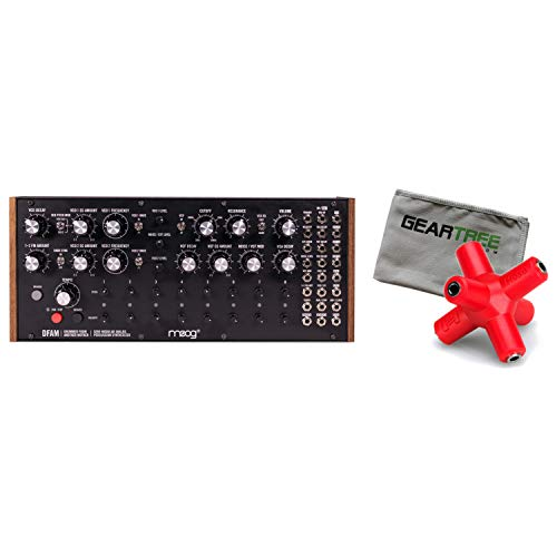 Best Price Moog DFAM (Drummer from Another Mother) Analog Synth w/Splitter and Cloth