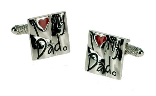 I Love My Dad – Boîte Cadeau Boutons de Manchette