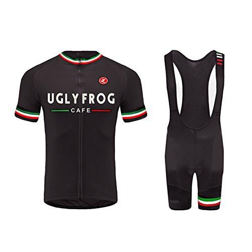 Uglyfrog Bike Wear De Manga Corto Conjunto Traje Equipacion