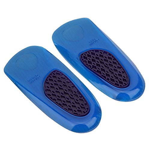 Copas para el talón en Forma de U Gel de Silicona para el talón Elevación del Calzado Almohadilla para el talón Inserciones para el Calzado para la Fascitis Plantar Dolor de talón
