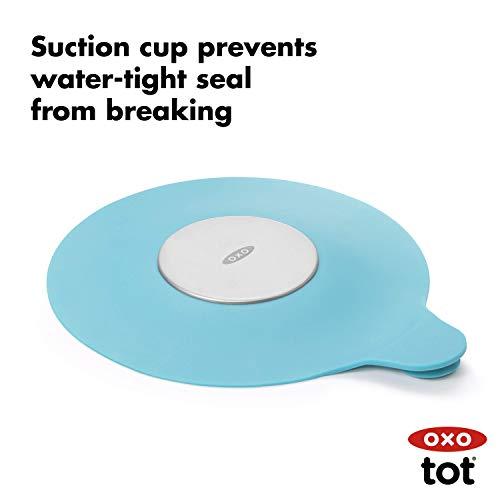 OXO Tot Tub Stopper Aqua