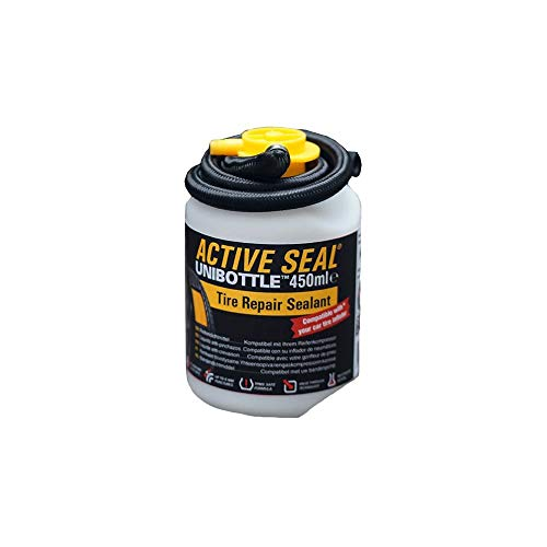 AIRMAN Tire Repair Sealant 450ml UNIBOTTLE - Tire Repair Sealant Can Be Used with Any Compressor