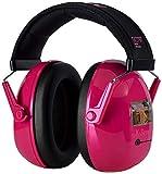 Swedsafe Kiddy Capsule - Paraorecchie per bambini - Protezione dell'udito per scuola e tempo libero - SNR: 29 dB - Rosa