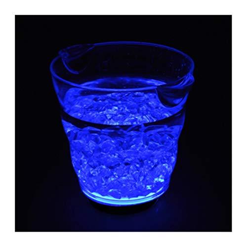 Cubo de hielo 4.9L LED Cubo de hielo Recargable Luminoso Luminoso Cerveza Cerveza Enfriador de vino Bebida Botella Soporte de hielo Barra de hielo Bar DISCO Decoración de fiesta Para fiestas familiare