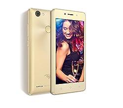 Itel WISH A41 Smartphone (Champagne Gold, 8GB)