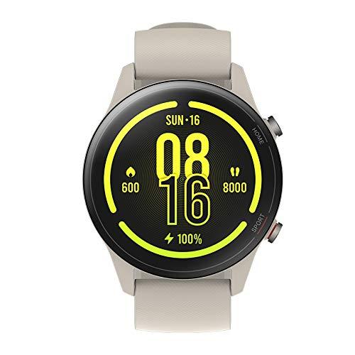 Xiaomi Mi Watch Smartwatch, Smartwatch für Damen und Herren mit 1,39-Zoll-Display, AMOLED-Display, GPS, Herzfrequenzmesser, 117 Trainingsmodi, 5 ATM, Weiß