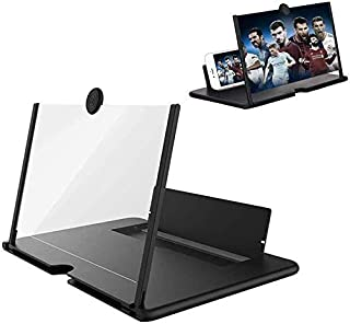 """12"""" Phone Screen Magnifier Stand,Pullout Extension Creative Screen Amplifier with Foldable Holder Stand, Phone Screen Desk..."""