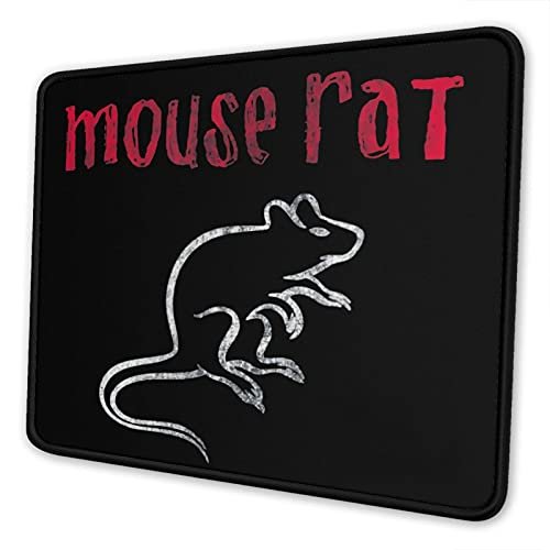 Atsushi Parks and Recreation The Mouse Pad with Stitched Edge Premium-Textured Mouse Mat Rectangle Non-Slip Rubber Base Gaming Vertical Mouse Pad,for Laptop Computer & Pc