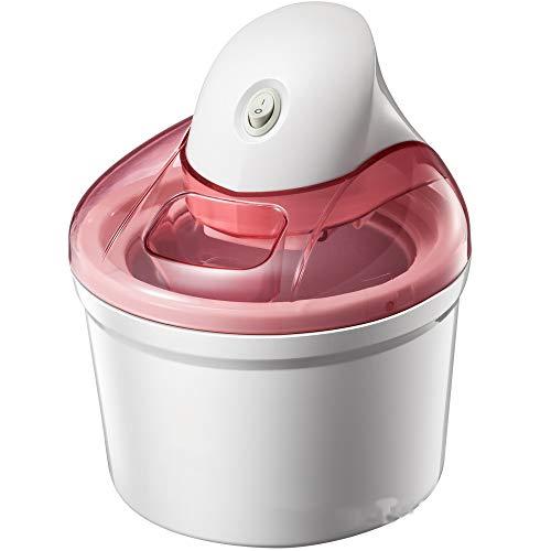 FÁCIL MANEJO: Con la máquina de helados, ahora puede producir helado hecho por sí mismo, sin importar el clima y la estación. Y eso es muy fácil. Perfecto para servir de 4 a 6 personas con helado. RENDIMIENTO FUERTE: Además, la máquina de helados rev...