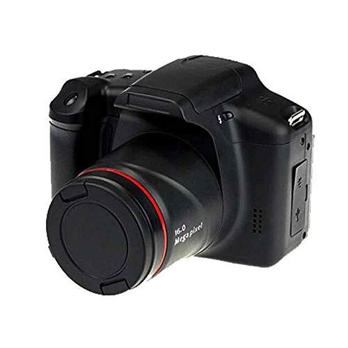 SQER Digitalkamera, HD-Tele-Spiegelreflexkamera für D05,16X Zoom FPV-Ausgang AV-Schnittstelle 140 Grad Unterstützung 32 GB Weitwinkel-Digitalkameras