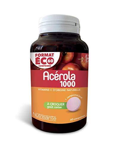 Nutrisanté Acérola AC601000 Multi-Vitamines/Minéraux 60 Comprimés
