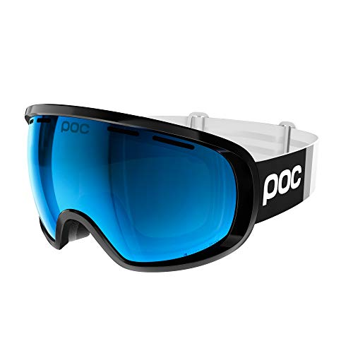 POC Fovea Clarity Comp, Uranium Black/Spektris Blue, ONE Size