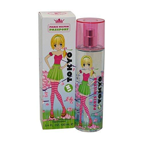 Paris Hilton Passport in Tokyo 100 ml EDT Spray, 1er Pack (1 x 100 ml)