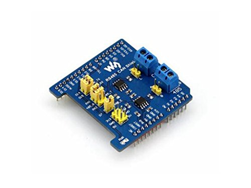 pzsmocn Electronic Component Arduino RS485 CAN Shield Designed for NUCLEO XNUCLEO Arduino Board Enable RS485 CAN Communication Functions