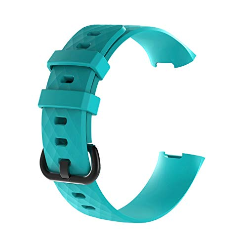 XXY Sport Band for Carga 3 CHARGE3 Banda Soft TPU Smart Watch Start STRUT Mujer BRAZA Pulsera Accesorios (Color : Large Size 10)