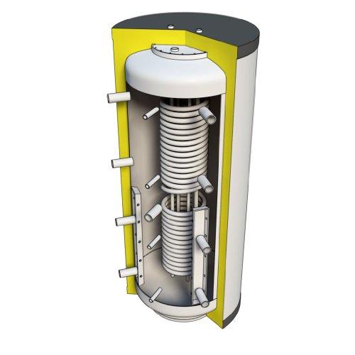 Hygienespeicher 800 Liter mit PU Hartschaumisolierung