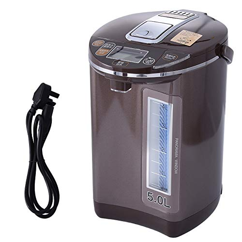 1600W totalmente automático inteligente de la caldera del agua de la temperatura constante del agua de la leche de bebé Mantenga 5L Capacidad de calentamiento del agua de la caldera Caldera